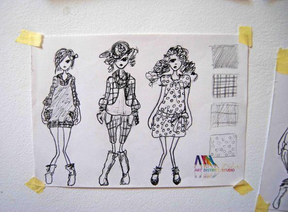 schita fashion design